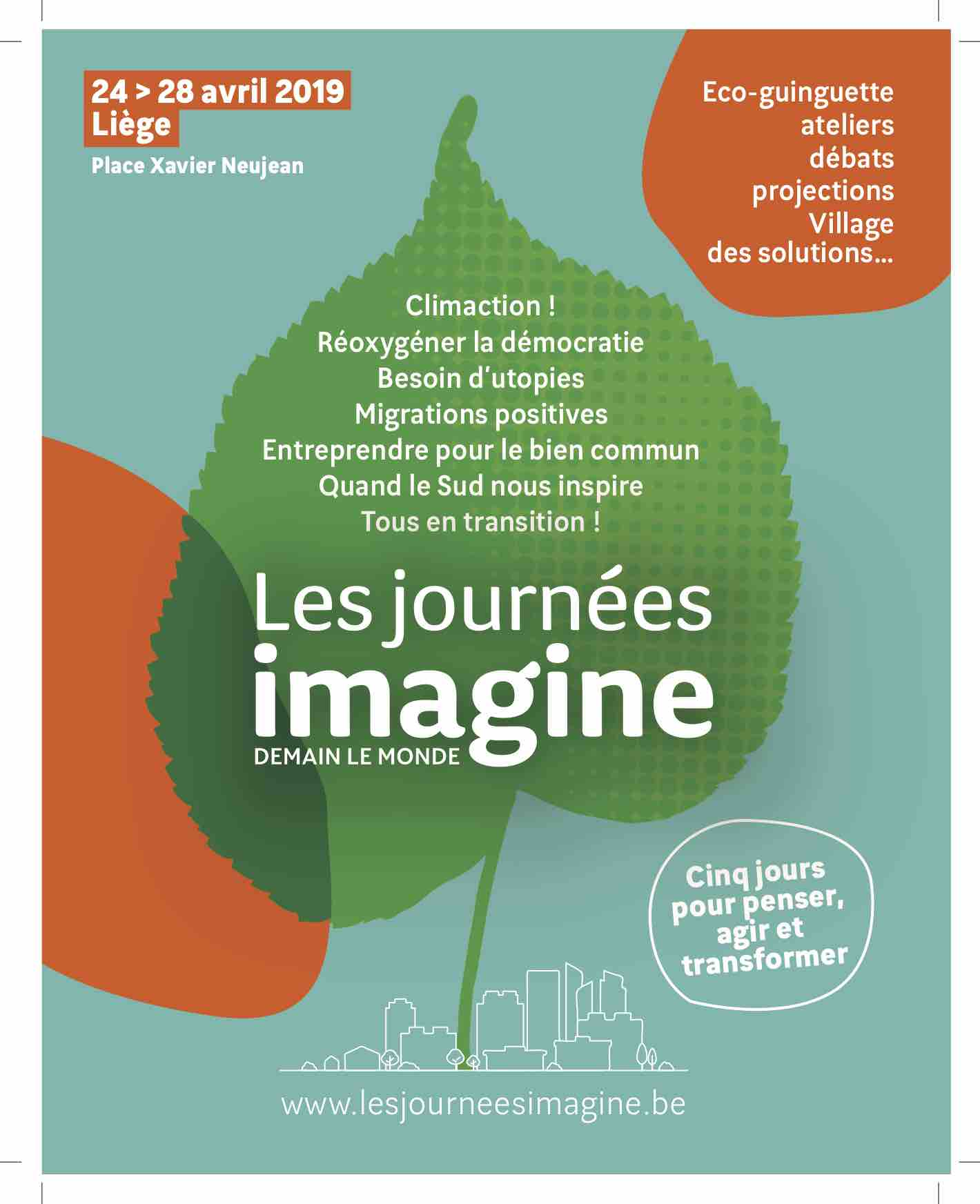 LES JOURNEES IMAGINE affiche